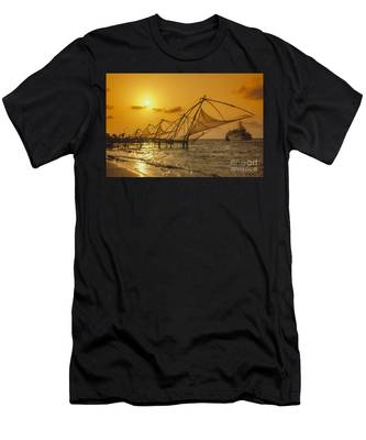 Men's T-Shirt (Athletic Fit) featuring the photograph India Cochin by Juergen Held