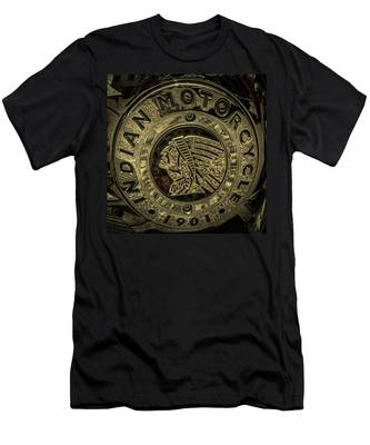 Indian Motorcycle Logo Men's T-Shirt (Athletic Fit)