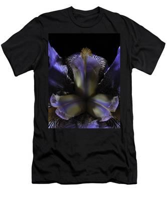 Iris Aglow Men's T-Shirt (Athletic Fit)