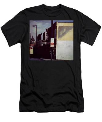 Jean's Bakery Men's T-Shirt (Athletic Fit)