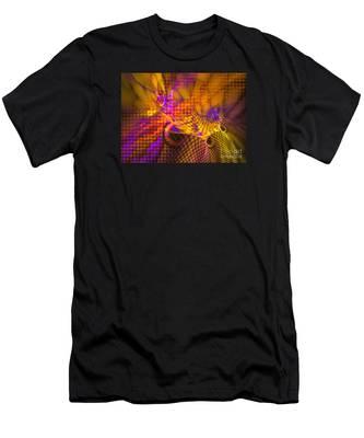 Joyride - Abstract Art Men's T-Shirt (Athletic Fit)