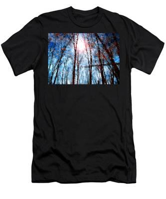 Jumbled Waters Men's T-Shirt (Athletic Fit)