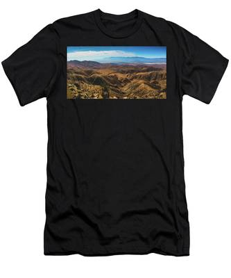Keys View Overlook Panorama Men's T-Shirt (Athletic Fit)
