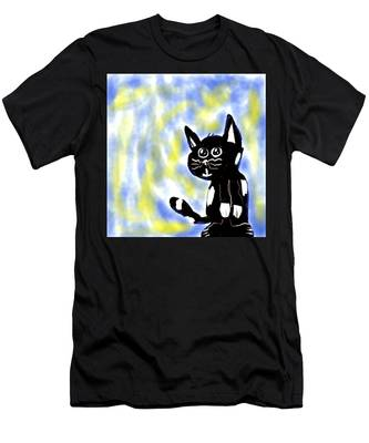 Kitty Kitty Men's T-Shirt (Athletic Fit)