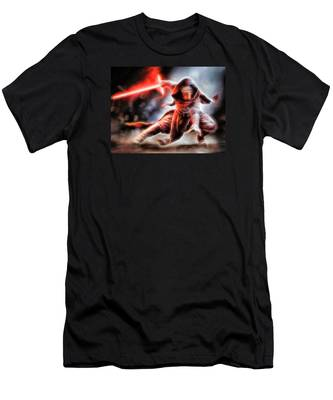 Kylo Ren I Will Fulfill Our Destiny Men's T-Shirt (Athletic Fit)