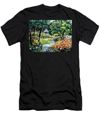 La Paloma Gardens Men's T-Shirt (Athletic Fit)
