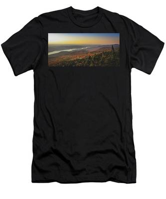 Lake Tremblant At Sunset Men's T-Shirt (Athletic Fit)