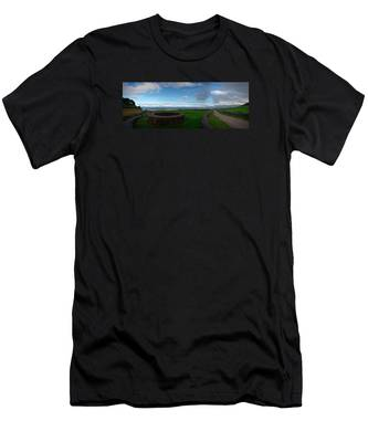 Landscapespanoramas019 Men's T-Shirt (Athletic Fit) by Joseph Amaral
