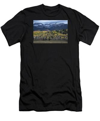 Last Light On Autumn Aspens Men's T-Shirt (Athletic Fit)