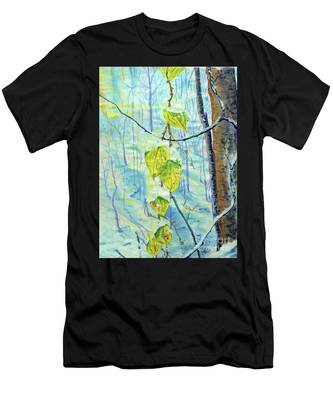 Last Of The Leaves Men's T-Shirt (Athletic Fit)