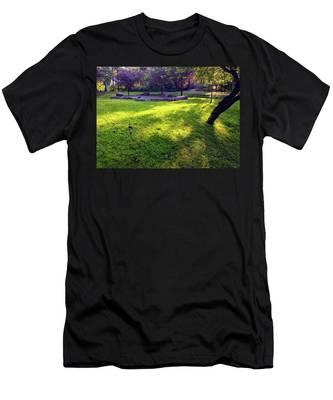 Late Summer Light Men's T-Shirt (Athletic Fit)