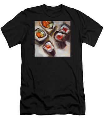 Let's Do Sushi Men's T-Shirt (Athletic Fit)