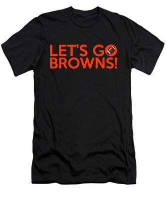 Let's Go Browns Men's T-Shirt (Athletic Fit)