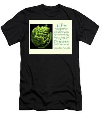 Life Happens Men's T-Shirt (Athletic Fit)