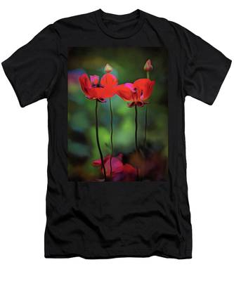 Men's T-Shirt (Athletic Fit) featuring the digital art Like Anything Else, This Too Shall Pass.... by Michael Goyberg