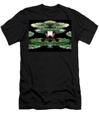Lily Candle Men's T-Shirt (Athletic Fit)