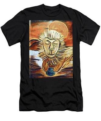 Lion Of Judah II Men's T-Shirt (Athletic Fit)