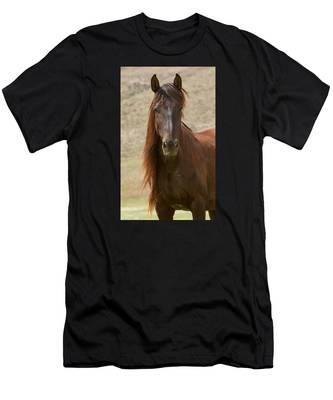 Long Maned Beauty Men's T-Shirt (Athletic Fit)