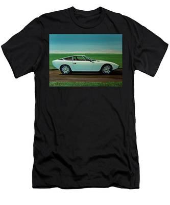 FGJGHK Maserati T-shirt Excellence Through Passion Racing Sport Supercar Noir