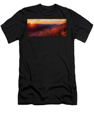 Melody Of Autumn Men's T-Shirt (Athletic Fit)