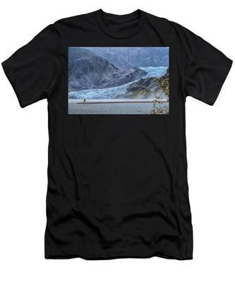 Mendenhall Glacier Men's T-Shirt (Athletic Fit)
