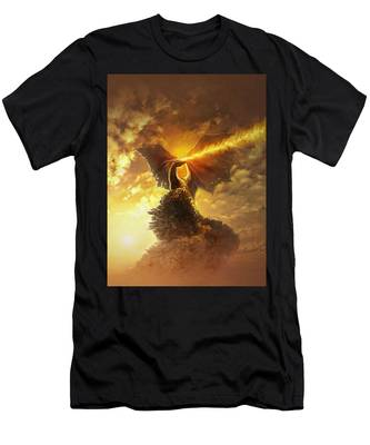 Mighty Dragon Men's T-Shirt (Athletic Fit)