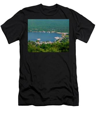 Men's T-Shirt (Athletic Fit) featuring the photograph Mini-ha-ha by Brad Wenskoski