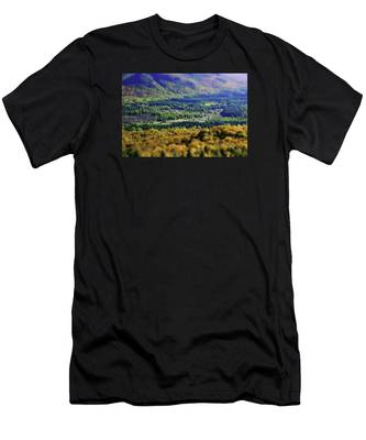 Men's T-Shirt (Athletic Fit) featuring the photograph Mini Meadow by Brad Wenskoski