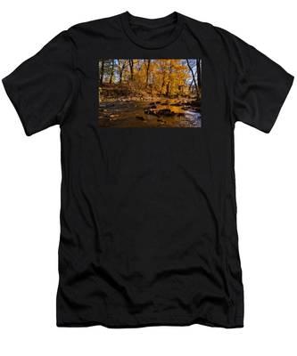 Molten Gold Men's T-Shirt (Athletic Fit)