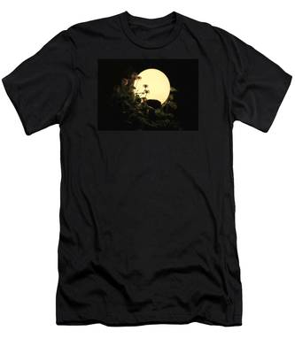 Moonglow Thistles Men's T-Shirt (Athletic Fit)