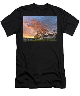 Morning Sky Men's T-Shirt (Athletic Fit)