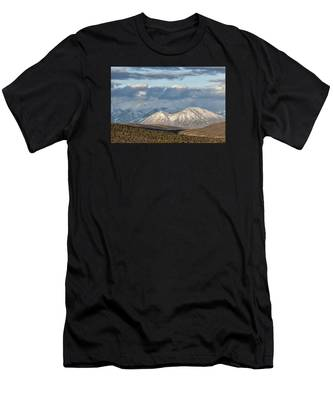 Mountain Highlight Men's T-Shirt (Athletic Fit)