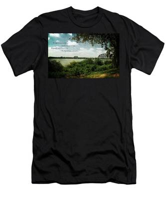 Natures Poetry Men's T-Shirt (Athletic Fit)