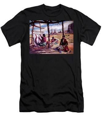 Navajo Weavers Men's T-Shirt (Athletic Fit)