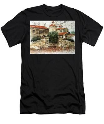 Neighbors Gate Men's T-Shirt (Athletic Fit)