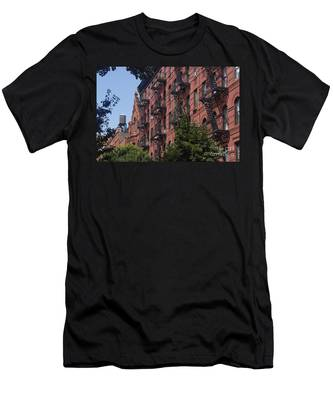 Men's T-Shirt (Athletic Fit) featuring the photograph New York Soho by Juergen Held