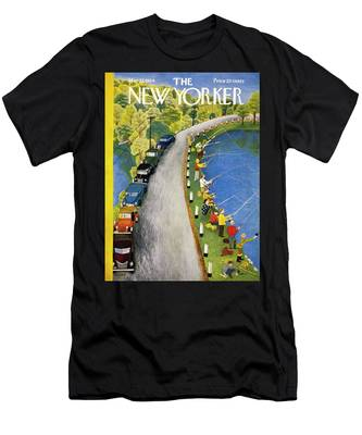 New Yorker May 22 1954 Men's T-Shirt (Athletic Fit)