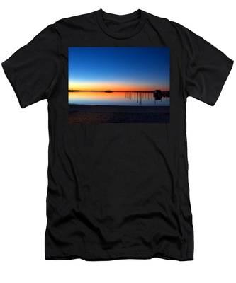 Night Fall Men's T-Shirt (Athletic Fit)