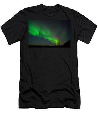Men's T-Shirt (Athletic Fit) featuring the photograph Night Vision by Carl Young