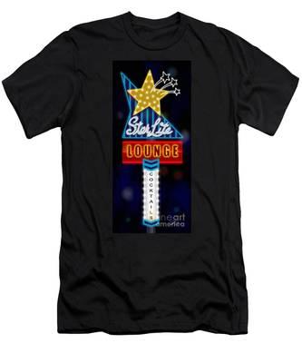 Nightclub Sign Starlite Lounge Men's T-Shirt (Athletic Fit)