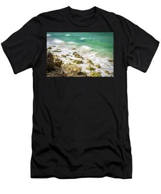 Oceanside In Trelawny, Jamaica Men's T-Shirt (Athletic Fit)