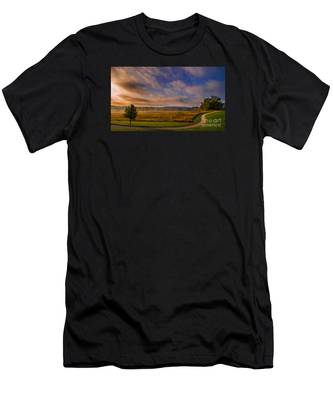 October Morning At Valley Forge Men's T-Shirt (Athletic Fit)