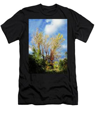 October Sunny Afternoon Men's T-Shirt (Athletic Fit)