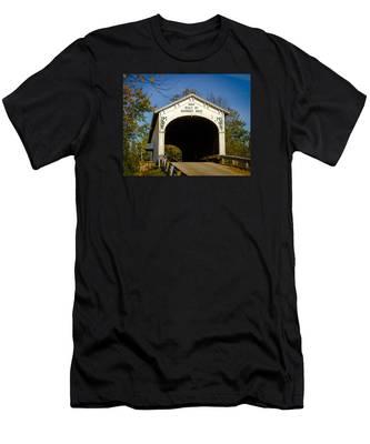 Offutt's Ford Covered Bridge Men's T-Shirt (Athletic Fit)