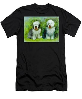 Old English Sheepdog Men's T-Shirt (Athletic Fit)