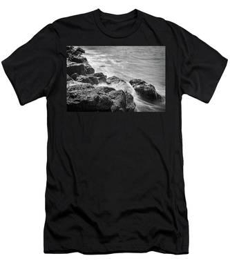 Ocean Rocks Men's T-Shirt (Athletic Fit)