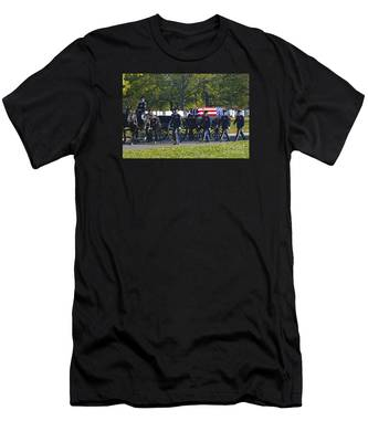 On Their Way To Rest Men's T-Shirt (Athletic Fit)