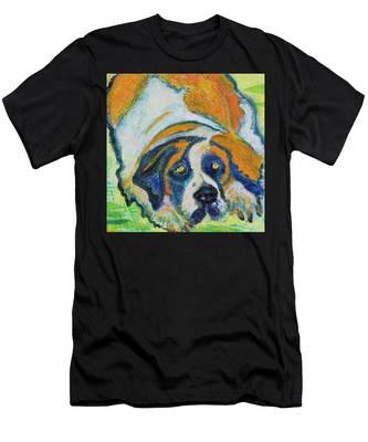 Orange Bernard Men's T-Shirt (Athletic Fit)