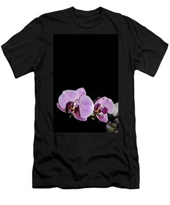 Orchid Blooms Men's T-Shirt (Athletic Fit)