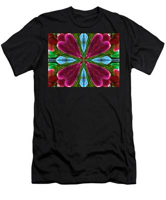 Orchid Frenzy Men's T-Shirt (Athletic Fit)